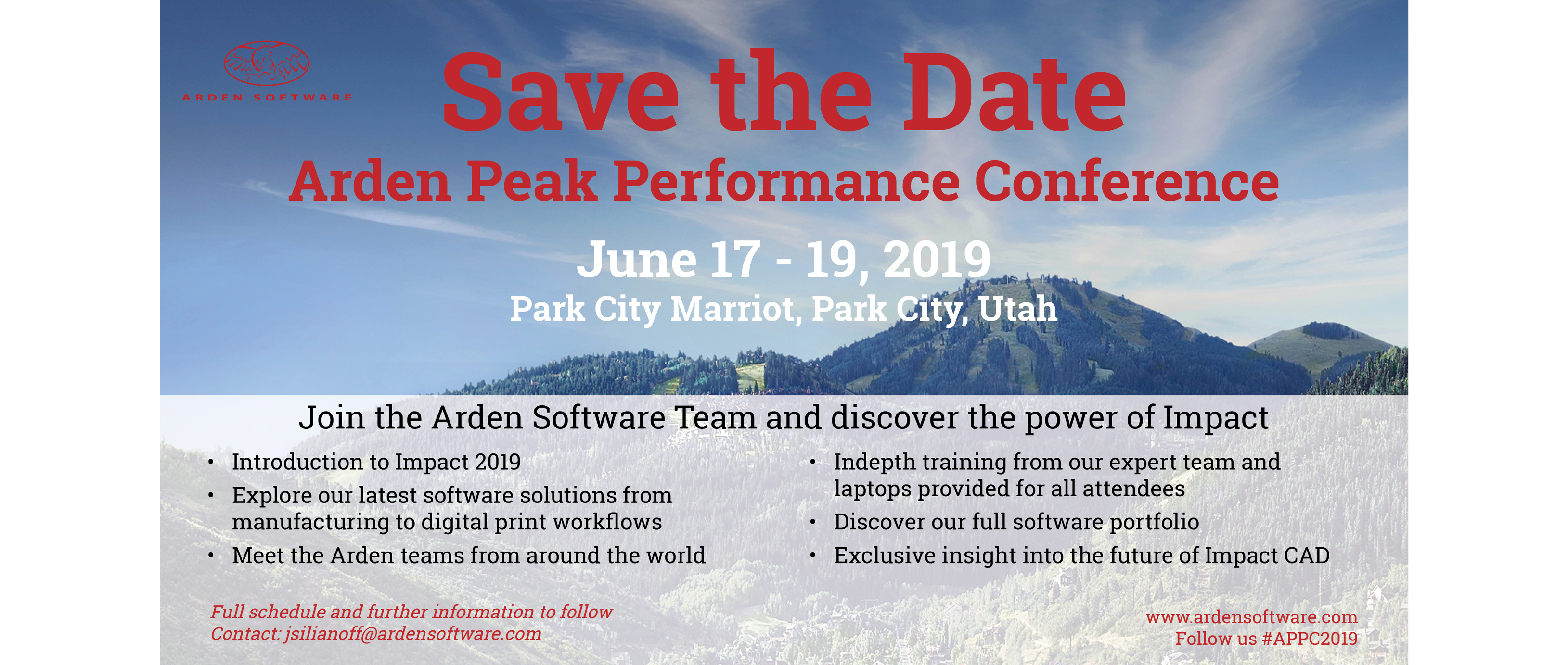 Arden Peak Performance Conference  – 2019