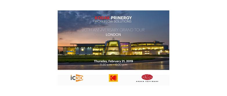 Kodak Prinergy Workflow Solutions 20th Anniversary Grand Tour, London