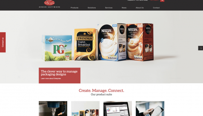 Arden Software unveils new website