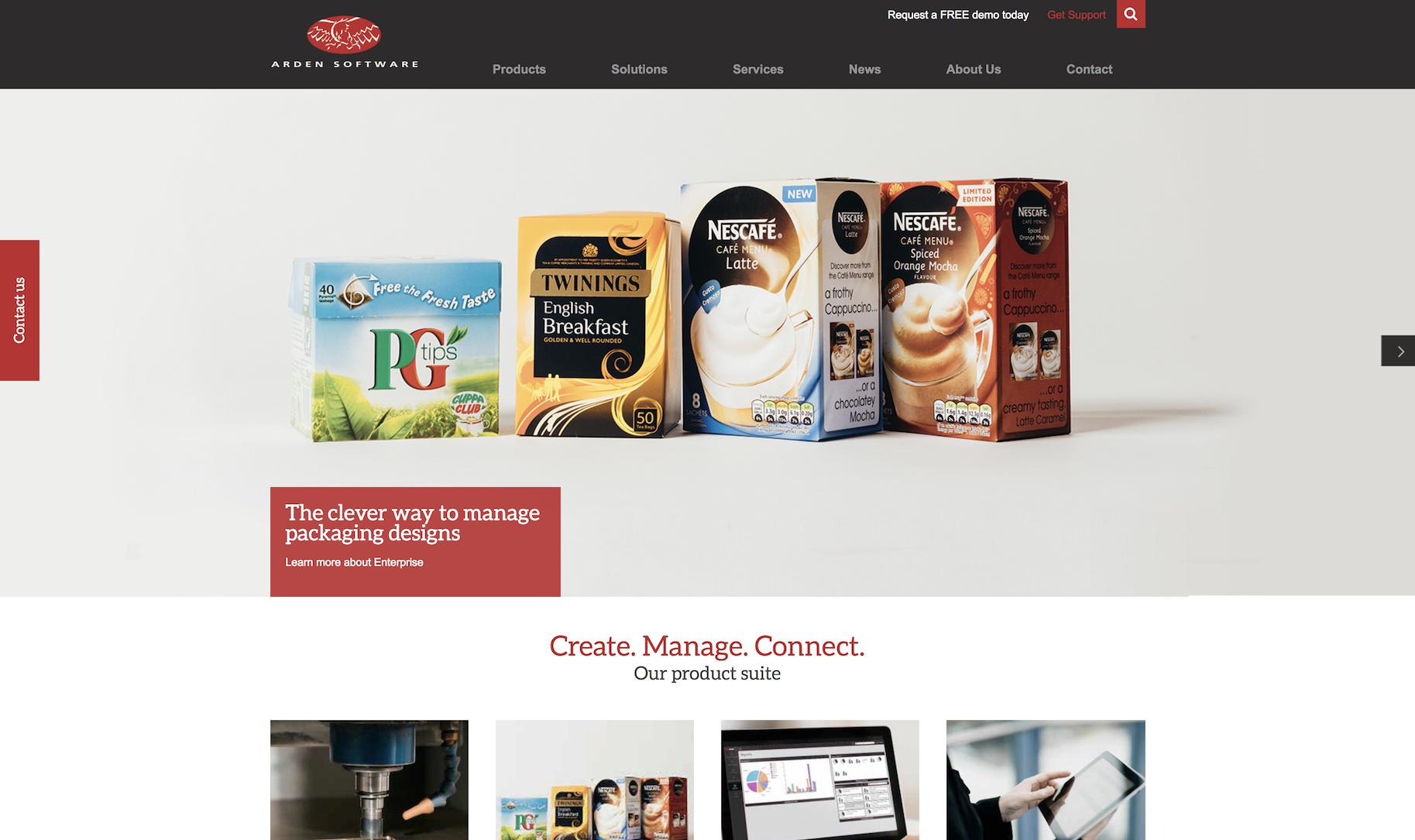 Arden Software unveils new website